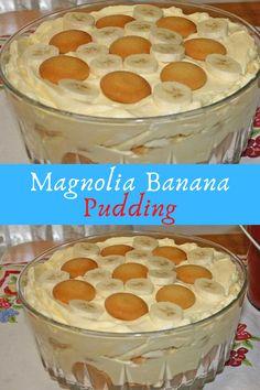 Magnolia Banana #Magnolia #Banana #Pudding
