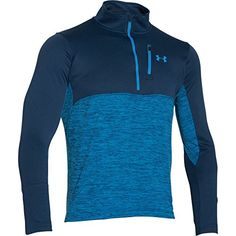 Under Armour UA Gamutlite 12 Zip Top  Mens Blackout Navy Small ** Continue to the product at the image link.