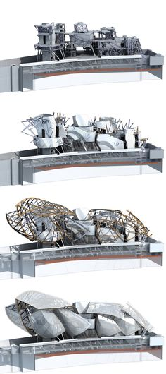 fondation louis vuitton by frank gehry takes shape in paris - Bhargav Bhat - Architecture Design, Chinese Architecture, Architecture Drawings, Concept Architecture, Futuristic Architecture, Amazing Architecture, Contemporary Architecture, Paris Architecture, Architecture Models