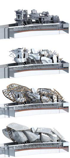 Frank Gehry | Fondation Louis Vuitton | Paris, France https://www.foga.com