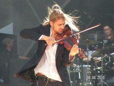 David Garrett beautiful ♥ Open Air in Berlin  June 08, 2010 Oh, his hair!!!