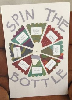 Vintage Spin the Bottle Baby Shower Game!