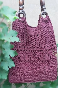 33 Free New Idea For Mesh Bag With Descriptions And Patterns 2019 - Page 4 of 33 - clear crochet bags purses handbags Crochet bag; 33 Free New Idea For Mesh Bag With Descriptions And Patterns 2019 - Page 4 of 33 - clear crochet Free Crochet Bag, Mode Crochet, Crochet Market Bag, Knit Crochet, Crochet Bags, Crochet Summer, Crochet Woman, Crochet Handbags, Crochet Purses
