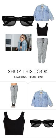 """""""casual gigi hadid"""" by superdope101 ❤ liked on Polyvore featuring Calvin Klein Collection and Sun Buddies"""