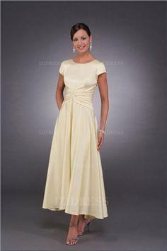Kleid festlich knochellang