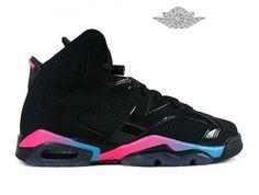 sneakers for cheap aeace 6aa78 Air Jordan 6 VI Retro - Baskets Jordan Pas Cher Chaussure Nike Pour Femme  Air…