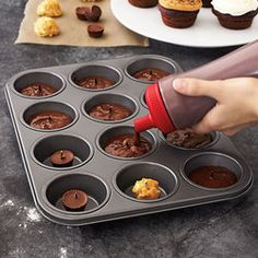 Cupcake Surprise Pan. Pretty cool! My sister got me one of these for my birthday. Can't wait to use it!!