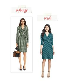 Wrap Dress: Splurge or Steal: Wardrobe Essentials