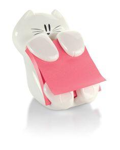 Pop-up Note Cat Dispenser, $5.97, post-it.com