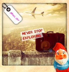 Life is an adventure! Live it!  Spread your wings explorers, it is your time to FLY!! ;) #tinytraveltips www.lovetherapyarcade.com
