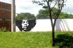 Popping up in places like Belgium and San Francisco, afro tree graffiti seems to be the next big thing in street art. 3d Street Art, Murals Street Art, Street Art News, Amazing Street Art, Street Art Graffiti, Street Artists, Graffiti Prints, 3d Chalk Art, Beautiful Streets