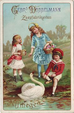 GEBRS DOBBELMANN ZEEPFABRIKANTEN NIJMEGEN. Vintage Cards ... 6a2d52ef3c
