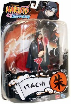 Toynami Naruto Shippuden 6 Inch Series 3 Action Figure Itachi by Toynami. $29.98. Now available from Toynami are these brand-new action figures based on the popular anime series NARUTO: SHIPPUDEN! Available in this assortment are Sasuke and Itachi! Each figure is approximately six inches in height and features limited articulation, as well as a display stand. (Each figure sold separately)