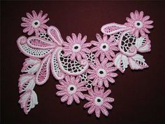 Ирландское кружево  Irish crochet motif