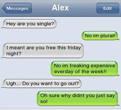 Of The Most Funny Text Message Conversations These Hilarious text messages are going to make you laugh out loud. Of The Most Funny Text Message Conversations These Hilarious text messages are going to make you laugh out loud. Memes Humor, Funny Texts Jokes, Text Jokes, Funny Text Fails, Cute Texts, Stupid Funny Memes, Funny Relatable Memes, Humor Texts, Funny Stuff
