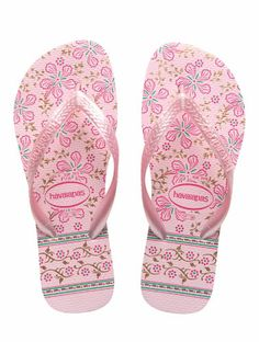 5a0b4433ba7d Havaianas Floral Gypsy - Light Rose