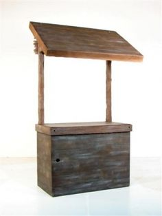 Market Stall Prop - This would be great for displaying and serving food on...