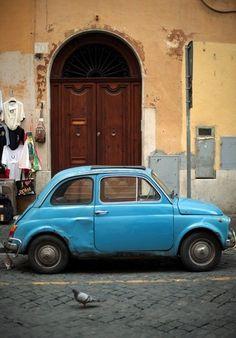 Fiat 500..my first car :-)