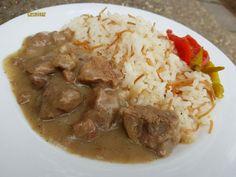 Grains, Pork, Chicken, Fall Of Man, Bulgur, Meat, Easy Meals, Cooking, Kale Stir Fry