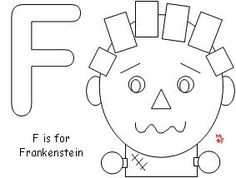 J is for Jack o Lantern Coloring Page from Making Learning
