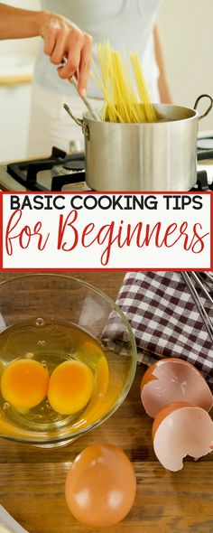 I am not an accomplished chef, but I know my way around the kitchen. Here are a few basic cooking tips for beginning home cooks. | cooking tips | basic cooking tips | easy cooking tips | beginning cooking tips | cooking tips for beginners | home cooks | tips for home cooks #basiccookingtricks
