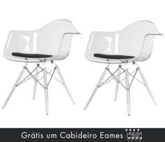 Cadeiras Gênova Transparente