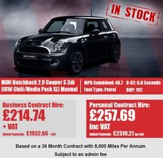 MINI Hatchback 2.0 Cooper S 3dr [JCW Chili/Media Pack XL] Chili, Packing, Business, Car, Bag Packaging, Automobile, Chile, Store, Chilis