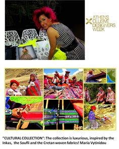 All eyes on Maria Vytinidou!  Η new designer Maria Vytinidou μας αποκαλύπτει την πηγή έμπνευσης της συλλογής που θα δείξει στον διαγωνισμό New Designers Awards της 18ης AXDW! Αναμένουμε…
