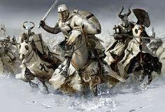 Teutonic Knights. Believe it or not theses guys actually did a lot of philanthropic work during the crusades. Weird eh?