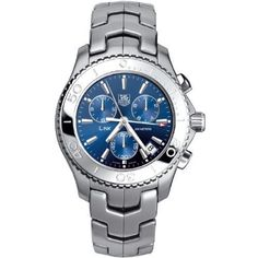 TAG Heuer Mens CJ1112BA0576 Link Quartz Chronograph Watch -- Read more reviews of the product by visiting the link on the image. (This is an affiliate link and I receive a commission for the sales)