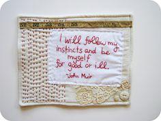 mini quilt goodness