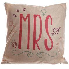 CUSH94 - Cuscino 43 x 43 cm - MRS | Puckator IT #cushion #complementiarredo #cuscini