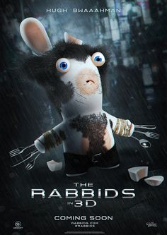 Rabbids claws look sharper than expected #Wolverine
