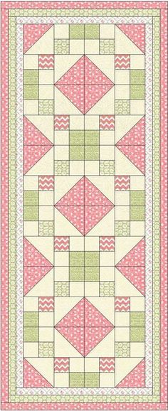 New patchwork quilt bedding color combos Ideas Patchwork Quilting, Quilting Tips, Quilting Designs, Table Runner And Placemats, Table Runner Pattern, Quilted Table Runners, Patch Quilt, Quilt Blocks, Small Quilts