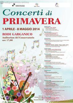 Rodi Garganico, una primavera a suon di musica - http://blog.rodigarganico.info/2014/eventi/rodi-garganico-primavera-suon-musica/