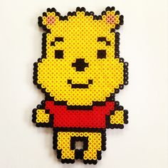 Winnie the Pooh hama beads by cynthiacreation