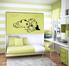 101 Dalmatian Wall Mural - She would LOVE this in her new room!