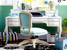 Tiffany Blue Furniture desks