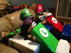 This dad who wanted to give his kids the best possible Mariokart experience