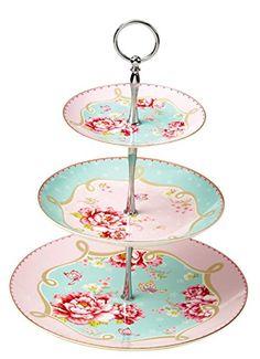 Jusalpha Royal Pink Roses Bone China 3-tier Cake Stand Jusalpha http://www.amazon.com/dp/B011F9Z8GA/ref=cm_sw_r_pi_dp_H5pYvb11EM469