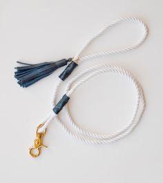 Friday Fetch: Pretty Rope Dog Leashes // Ammo the Dachshund