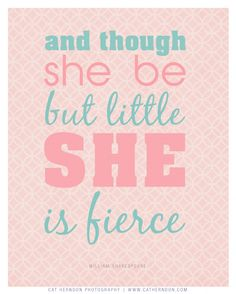 Shakespeare for today's baby girls…