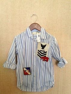 Home Spun Vintage Shirt with Patches- $44 again I'll make this!