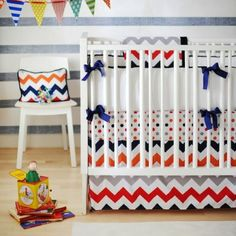 New Arrivals 2-Piece Crib Set (Rugby) - www.rightstart.com