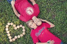 cute with baseballs