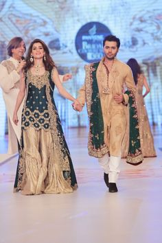 Fashion Glamour World: Fashion Dress Designer Rani Emaan Wedding-Bridal Collection at Pantene Bridal Couture Week 2014 Pakistani Wedding Outfits, Pakistani Bridal Dresses, Pakistani Dress Design, Bridal Outfits, Indian Outfits, Wedding Dresses, Walima Dress, Bridal Sarees, Indian Dresses