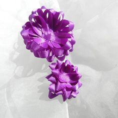 Purple Satin Gift Bows by beautifulswagstore on Etsy, $2.80 #teamdream #teamsellit #RT #coupon TEAMDREAM 18% off