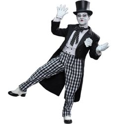 Batman - The Joker 1989 Mime Version 1/6th Scale Hot Toys Action Figure