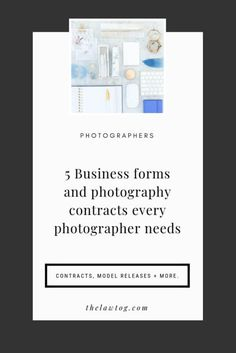 Business forms and photography contracts every photographer needs Photography Contract, Hobby Photography, Advertising Photography, Photography Business, Photography Ideas, Contract Law, Contract Agreement, Roommate Agreement Template, Photographer Needed