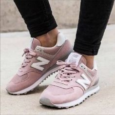 87aa7b9836ec New Balance Shoes | New Balance 574 Sneakers Great Condition | Color: Pink  | Size